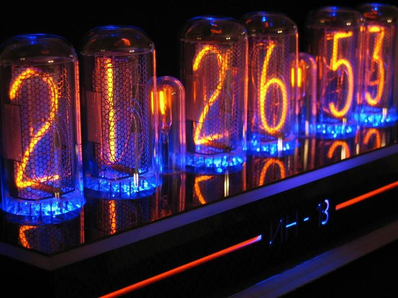 IN-18 clock by J. Lazzaro